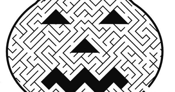 jeu de labyrinthe pour enfant votre jeu d 39 halloween gratuit a imprimer id es pour la classe. Black Bedroom Furniture Sets. Home Design Ideas
