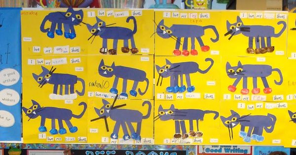 Pete the Cat activities. love this book! Love these actvities!