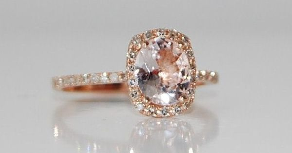 rose gold champagne sapphire ring. DREAM RING