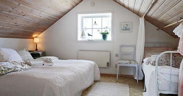 Chambre Mansard E 39 Id Es Pour Am Nager Cet Espace Combles Pinterest Chambre