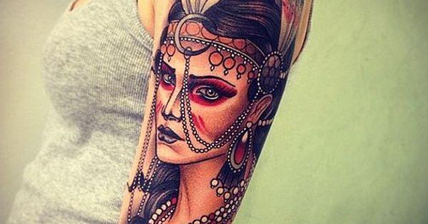 tatuagem feminina bra o ndia tatuagens femininas tattoo pinterest. Black Bedroom Furniture Sets. Home Design Ideas