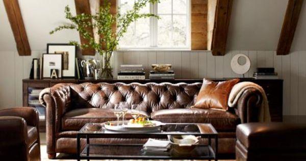 Masculine living room living room pinterest for Moad interior designs