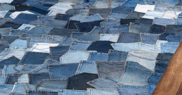 Jean pocket rug