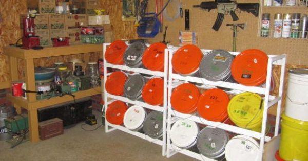5 gal bucket storage rack | Space savers | Pinterest | Storage, Buckets and Storage racks