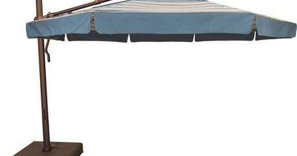 Treasure Garden Outdoor Furniture Luxury Umbrellas