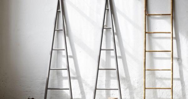 Echelle porte serviette en bambou naturel h bsch id es - Echelle bambou porte serviette casa ...