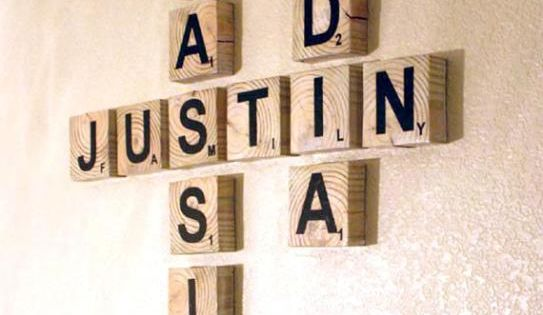 Scrabble family name art art family - Scrabble decoracion ...