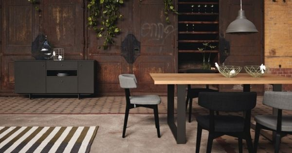Hulsta Now Elements Etkezoasztal 240x100 Cm Dining Table Design Table Dining Furniture