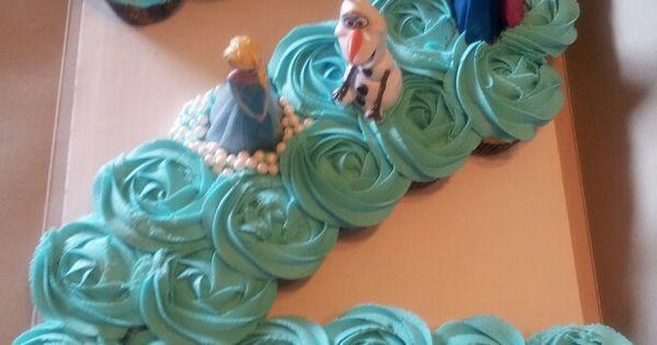 Frozen Number 2 Cupcake Cake Sarita S Sweets