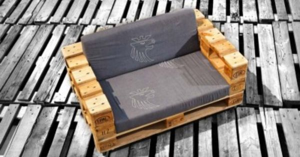 Sofa Mit Nur 3 Europaletten Gemacht Ikea Hack Pinterest Sofas Chang 39 E 3 And Pallets