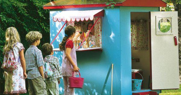 Kinder bauwagen spielzeug im jako o online shop - Spielhaus aus paletten ...