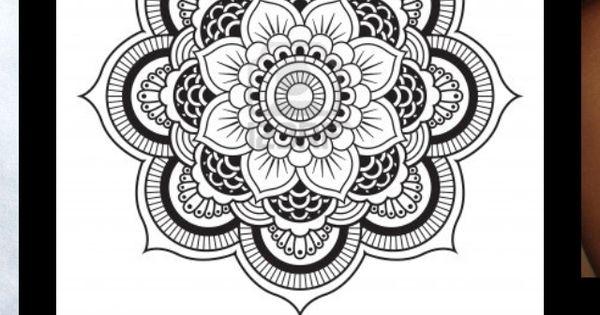 Mehndi Patterns Java : Another mandala tattoo design neo traditional