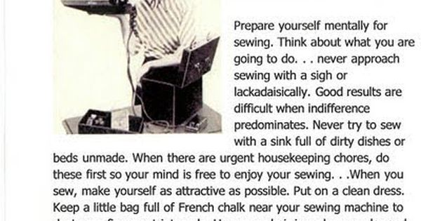 1949 Singer Sewing Manual Advice. I actually have this with my old