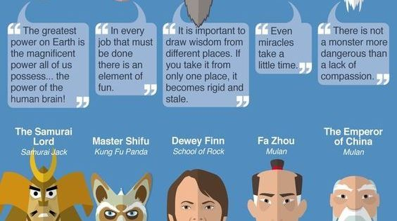 inspirational quotes teachers infographic