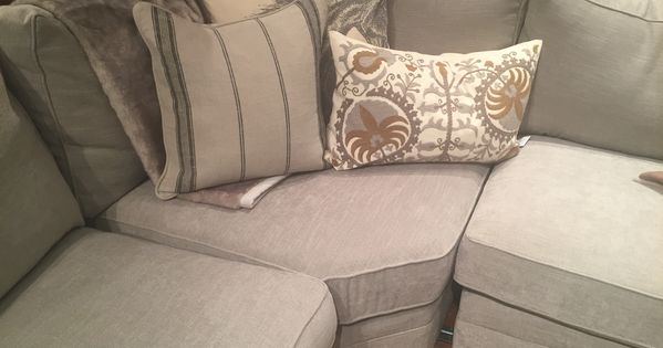 Pottery Barn Silver Taupe Performance Tweed Really Like The Look And Feel Of This Fabric For