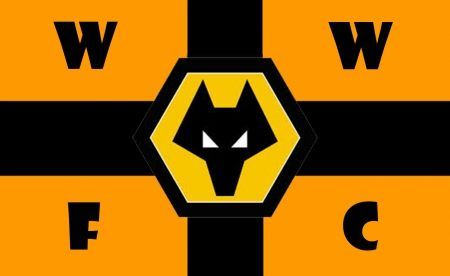 Black Country Wolves Flag 5 X 3