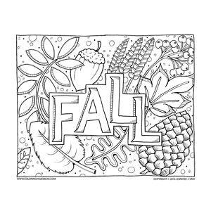 Adult Coloring Pages Fall Coloring Pages Fall Coloring Sheets