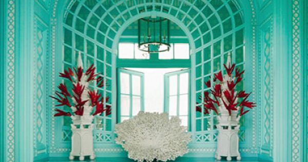Image detail for -Dreamy Tiffany blue colors from Diamond Baratta Design by