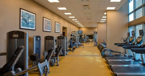 Fitness Center in Capitol Place | My office's work | Pinterest ...