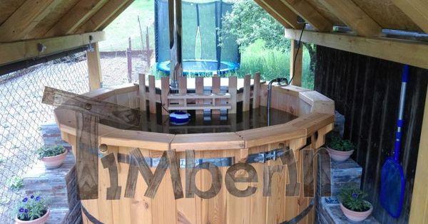 Holzbadetonne Deluxe Michael Gunter Bayern Deutschland Hot Tub Backyard Hot Tub Outdoor Backyard Inspiration