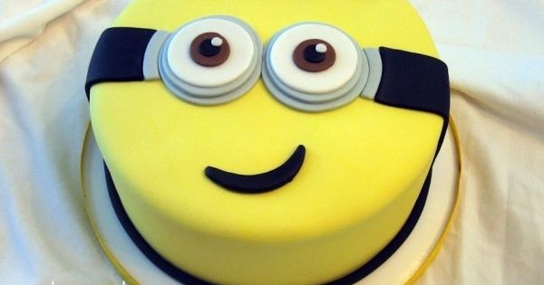 minion birthday cake | Fun little cake for a special little boy's