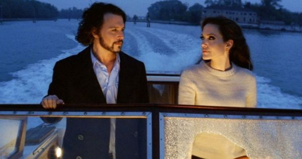 Pin By Nicole Esposito On All About Angelina The Tourist Movie Johnny Depp Angelina Jolie Johnny Depp