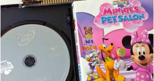 Minnie s pet salon dvd with free pet comb disney junior for A family pet salon