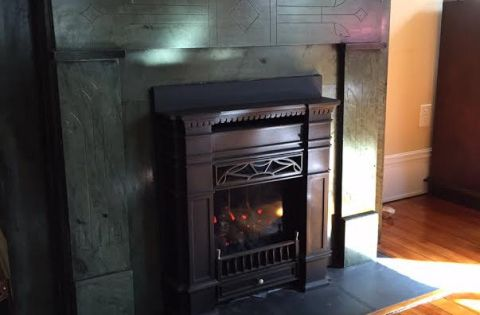 Senator Gas Insert From Victorian Fireplace Shop Puts An Old Coal Fireplace Back In Service And