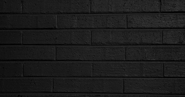 Black Painted Brick Wall Texture Free High Resolution