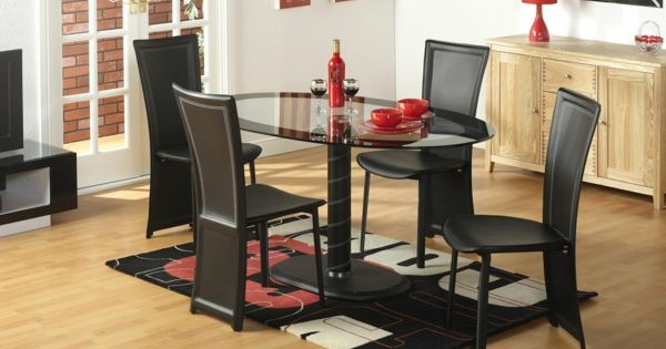 glastische esszimmer m bel glasplatte tisch esszimmer. Black Bedroom Furniture Sets. Home Design Ideas