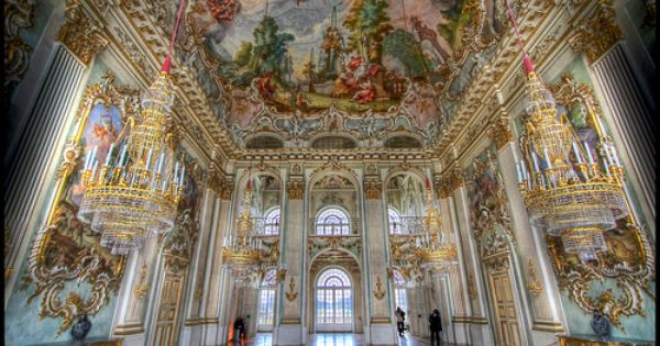 Steinerner Saal Schloss Nymphenburg Flickr Intercambio De Fotos Germany Castles Castle Palace Interior