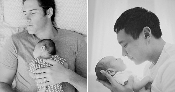 30 Love-Filled Photos Every Parent Must Take with their Newborn! With Daddy!