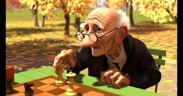 From The Short Film Geri S Game Xadrez