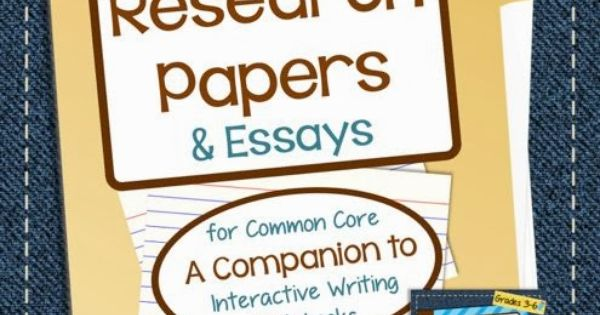common core research paper A compendium of research on the common core state standards author(s): matthew frizzell and tara dunderdale published: february 10, 2015 this updated compendium.