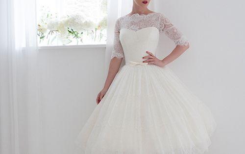 Primrose Dress By House Of Mooshki. Short Wedding Dress