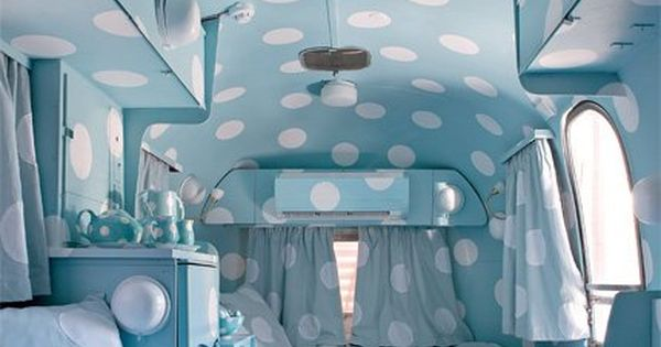 Polkadot life in an airstream