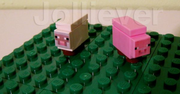 lego minecraft sheep instructions