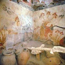 The Excavations Of Akrotiri In Santorini Greece The Excavations