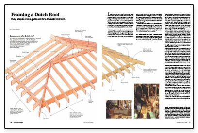 Framing A Dutch Roof Dutch Gable Roof Roof Framing Hip Roof
