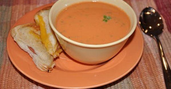 ... | Tomato Basil Soup, Tomato Basil and Creamy Tomato Basil Soup
