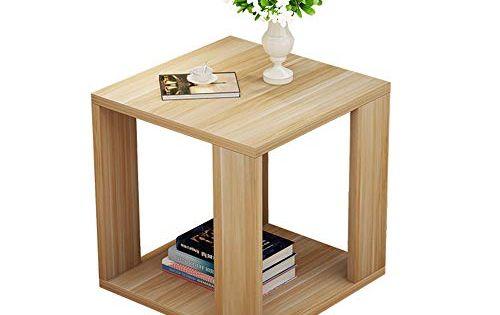 Bedside Table Gjm Shop Square 3 Tiers Sofa Side Table Corner Table Storage Shelf 40x40x40cm Color B Furniture Black Bedroom Furniture Modern Shelving