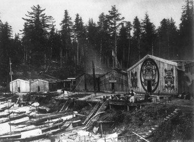 a116a9c7bdae0f13e8c141e308aa65c9 Pacific Northwest Indian Plank House on northwest coast plank house, pacific northwest coast tlingit, cedar plank house, tlingit plank house,