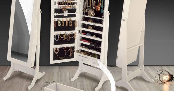 meuble miroir avec rangement pour bijoux 3 en 1 dressing co pinterest parfait et bijoux. Black Bedroom Furniture Sets. Home Design Ideas