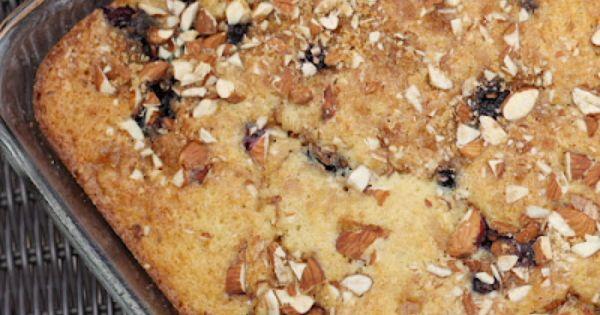 Mmm...is for Mommy: Blueberry Almond Coffee Cake favorite-recipes
