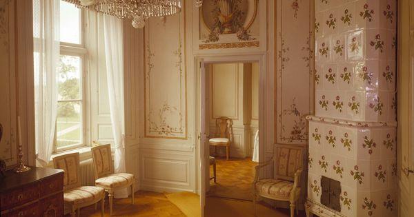 Väggdekor G : Sturehof det så kallade papegojrummet på sturehofs slott med