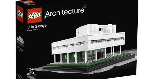 LEGO Architecture Villa Savoye House Replica Poissy Paris France Le Corbusier LEGO