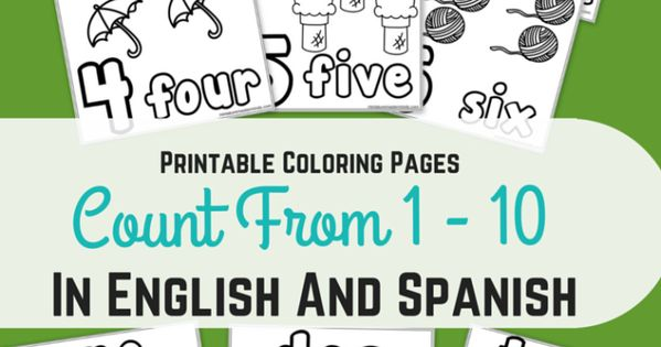 Printable Coloring Pages Counting
