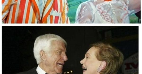 This makes my heart happy. julie andrews and dick van dyke marypoppins
