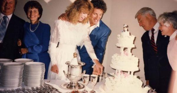 Julianne Phillips Bruce Springsteen Wedding 1985 Rock