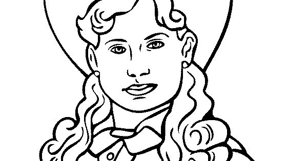 oakley sunglasses coloring pages | What Color Is Annie Oakley's Hair | CINEMAS 93
